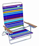 Rio Beach Designer High Back Chair (Calypso Stripe)