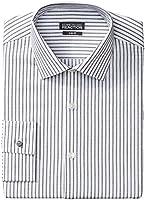 Kenneth Cole Reaction Men's Slim Fit Textured Stripe
