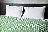 Ebydesign Geometric Duvet Cover, Queen, 4Leaf