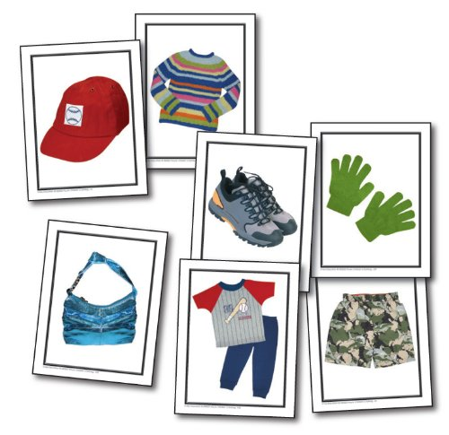 Nouns: Children's Clothing Learning Cards (Development Clothing compare prices)