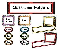 Carson Dellosa Colorful Chalkboard Classroom Management (110302) by Carson-Dellosa