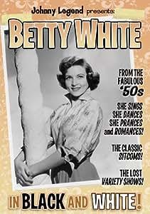 Betty White In Black & White