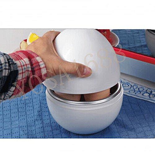 Yosa Fantasy Nordic Ware Microwave Egg Boiler Maker Hard Boiled Soft Plastic Cooker Steamer (Nordicware Microwave Egg Cooker compare prices)