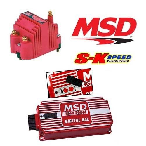 MSD Ignition Kit - Digital 6AL 6425 Ignition Box & Blaster