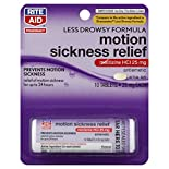 Rite Aid Pharmacy Motion Sickness Relief, 25 mg, Tablets, 10 tablets