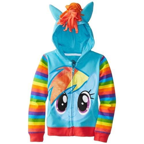 FREEZE Little Girls' My Little Pony Rainbow Dash Hoodie майка классическая printio my little pony rainbow dash