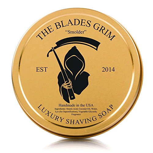 The Blades Grim Gold Luxury Shaving Soap,