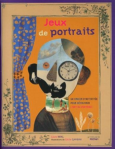 livres d'activités portraits - artgora
