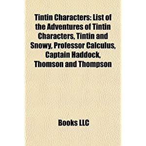 The Adventures Of Tintin Characters | RM.