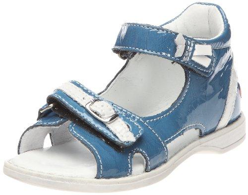 Gbb 12E2111920 Kidgirl211, Scarpe Basse Bambina, Blu (Bleu/Blanc), 22