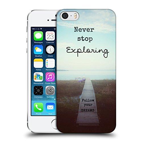 ufficiale-olivia-joy-stclaire-never-stop-exploring-tipografia-cover-retro-rigida-per-apple-iphone-5-
