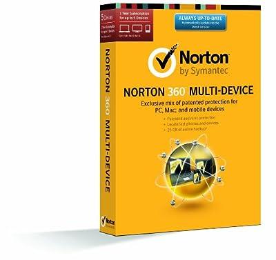 Norton 360 Multi-Device 1 User 5 Licenses