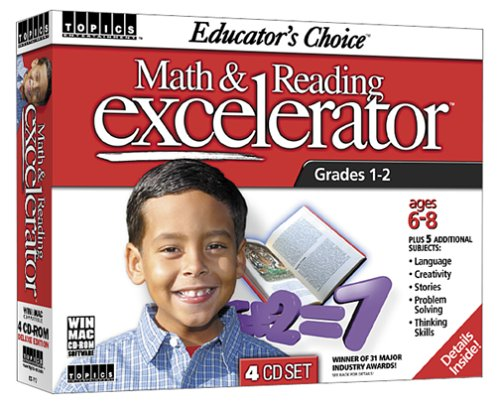 Educator's Choice Math and Reading Excelerator Grades 1-2 (Math Drill Express compare prices)