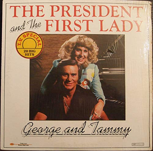 Vinilo : JONES, GEORGE / WYNETTE, TAMMY - The President And The First Lady (LP Vinyl)