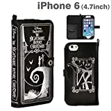 Nightmare Before Christmas Old Book Leather Case for iPhone6 from Japan
