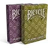 Lot 2 Bicycle® Peacock Deck Stylish Simple Splendid Playing Cards