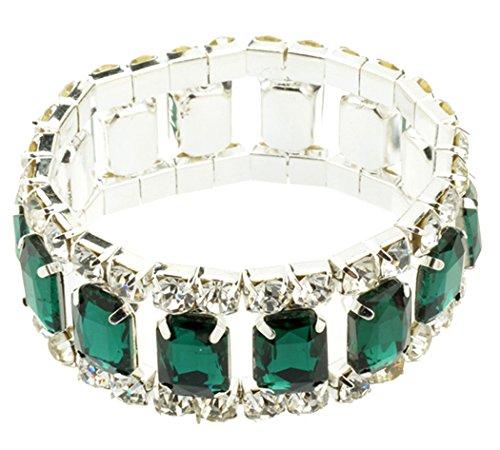 honeyjoy-crystal-jewelry-eyes-tennis-link-stretch-bracelet-green-wrist-chain