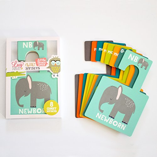 Lucy Darling Little Animal Lover Closet Divider Set