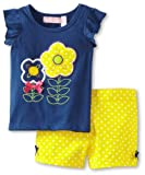 Kids Headquarters Girls 2-6X Short Set