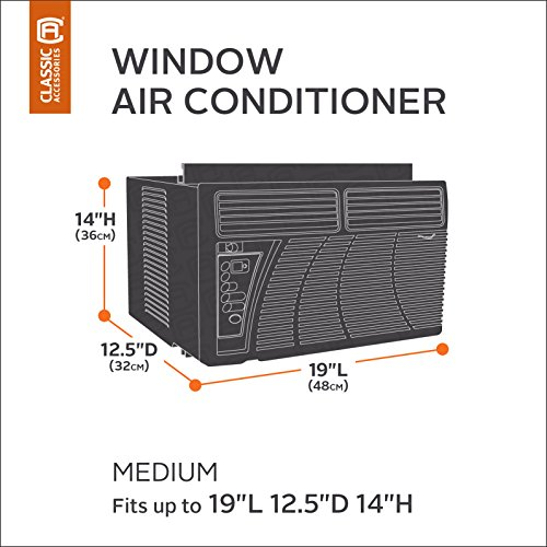 Classic accessories 55 452 150301 rt veranda window ac for 12 x 19 window air conditioner