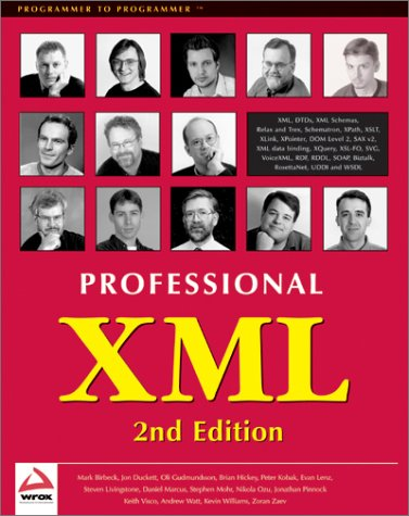 Professional XML, 2nd Edition (Programmer to Programmer)