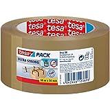 Tesa 57177-00000-11 pack Rouleau adhésif ultra puissant pour Emballage 66 m:50 mm Marron