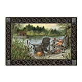 Lakeside Camping Summer Indoor / Outdoor Doormat