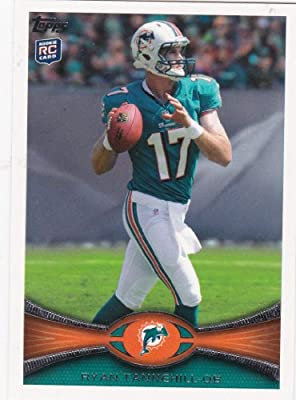 2012 Topps Football Card # 134 Ryan Tannehill RC - Miami Dolphins (RC - Rookie Card) (NFL Trading Card)