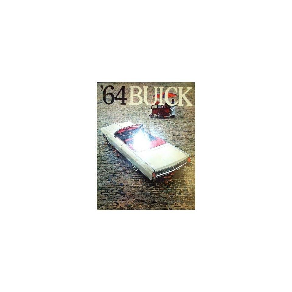 1964 Buick Sales Brochure Literature Book Piece Advertisement Options Colors