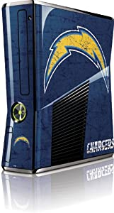 NFL - San Diego Chargers - San Diego Chargers Distressed - Microsoft Xbox 360 Slim... by Skinit