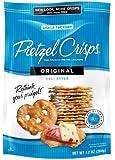 Snack Factory, Pretzel Crisps, Original Deli Style, 7.2oz Pouch (Pack of 4)