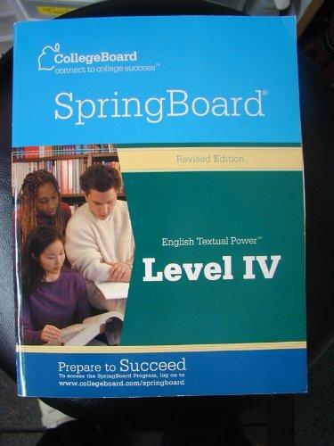 Springboard English Textual Power, Level 4