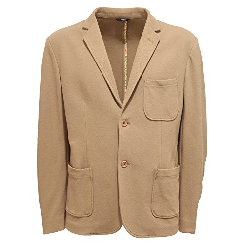 9773Q giacca uomo DANIELE ALESSANDRINI GREY giacche beige jacket men [48]