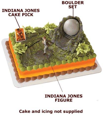 Indiana Jones Cake Topper Kit