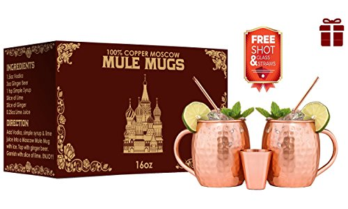 100-pure-hammered-handmade-moscow-mule-copper-mugs-16-ounceunlined-no-nickel-lining-gift-set-of-2-co