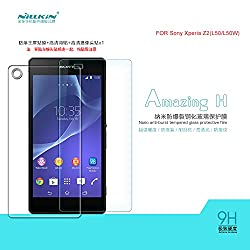 Nillkin Protective 9H Amazing H Nanometer Anti Explosion Tempered Glass Screen Guard Protector Film For Sony Xperia Z2 L50W