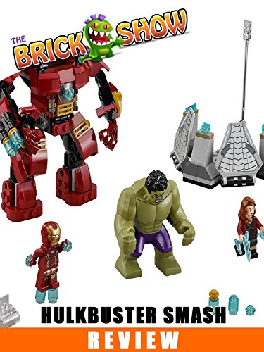 LEGO Avengers Hulkbuster Smash Review (76031)