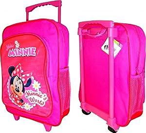 Disney Minnie Mouse Minnie's World School Travel Wheeled Bag