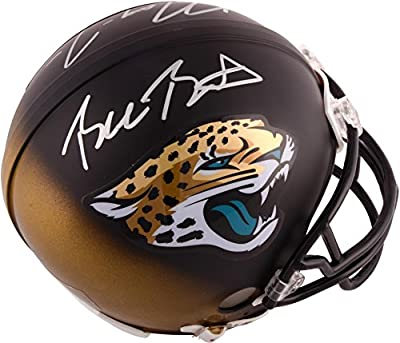 Blake Bortles & Marqise Lee Jacksonville Jaguars Autographed Riddell Mini Helmet - Fanatics Authentic Certified