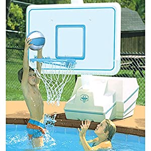 Splash And Slam Portable Swimming Pool Basketball Game Set Patio Lawn Garden