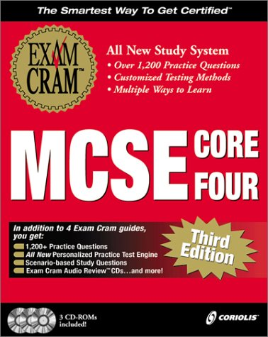MCSE Core Four Exam Cram Pack (with CD-ROMs) with CDROM