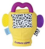 Award Winning My First Gummee Glove Teething Mitten With Detachable Heart Shape Teether Ring - Suitable From 3-6 Months