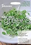 Johnsons 24699 Microgreens Basil Seeds - Green