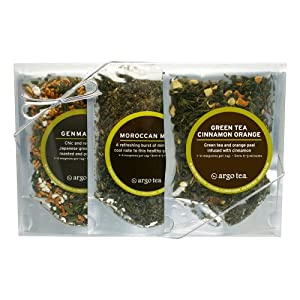 Green Teas - Loose Leaf Tea Sampler Set by Argo Tea
