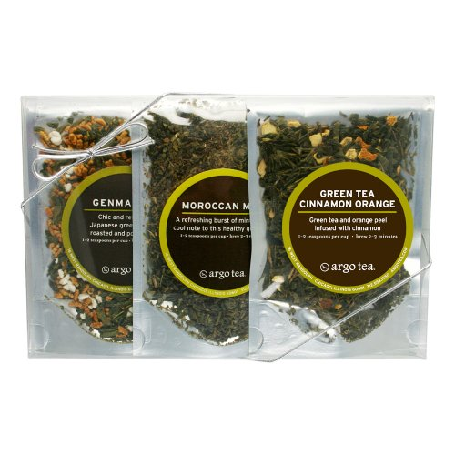 Green Teas - Loose Leaf Tea Sampler Set