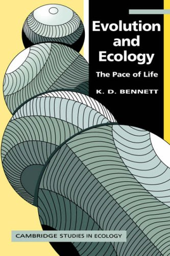 Evolution and Ecology: The Pace of Life (Cambridge Studies in Ecology)