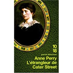 L'Etrangleur de Cater street - Anne Perry