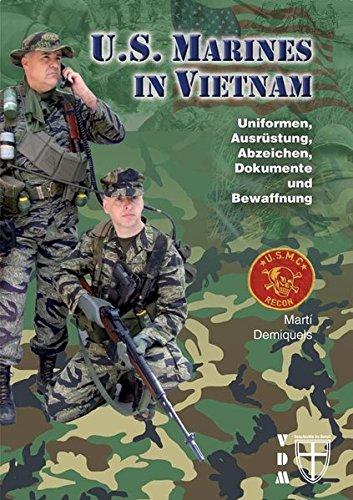 US-Marines-in-Vietnam-Uniformen-Ausrstung-Abzeichen-Dokumente-und-Bewaffnung-Geschichte-im-Detail