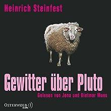 Gewitter über Pluto Hörbuch von Heinrich Steinfest Gesprochen von: Dietmar Mues, Jona Mues