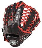 Louisville Slugger FGHDSR5 HD9 Scarlet Fielding Glove, 12.75-Inch, Left Hand Throw, 12.75-Inch/Scarlet